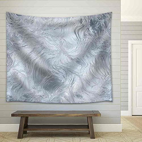 Seamless Ice Frozen Water Texture Abstract Winter Background Fabric Wall