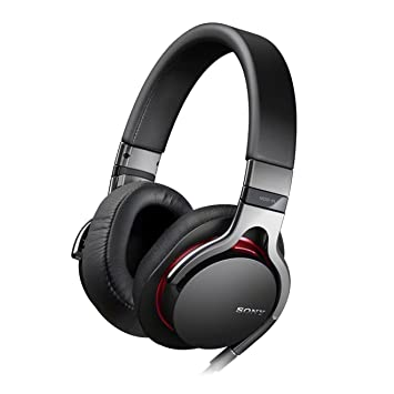 007e6f028d3 Sony MDR1RB.CE7 - Auriculares con cable de micrófono para iPod / iPhone /  iPad, Negro: Amazon.es: Informática