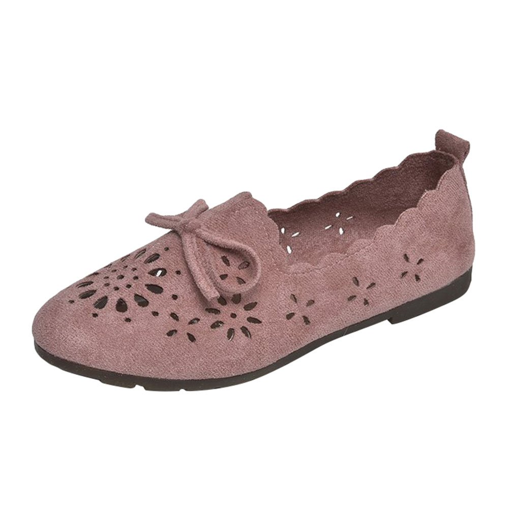 Anguang Femmes Confort Femmes Plat Mocassins Slippers Pink#2 Chaussure Loafers Conduite Slip on Loafers Pink#2 dc276b8 - piero.space
