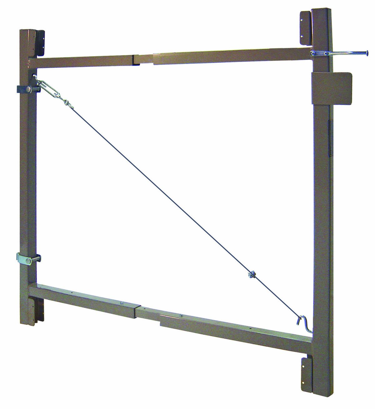 Adjust-A-Gate Steel Frame Gate Building Kit (36''-60'' wide openings,3' - 4' high fence)