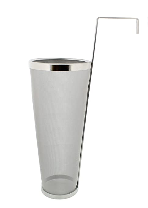 Amazon.com: Brewing 1 Gallon Hopper Spider Strainer, Stainless Steel on