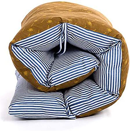 Cojín para Tumbona Topper, Repuesto Jardín Grueso Cojines de Asiento Reclinable Suave Almohadilla Plegable con Respaldo Cojín para Silla-Azul 165X57cm(65x22in): Amazon.es: Hogar