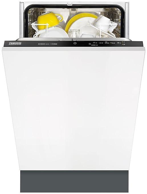 Zanussi ZDV12001FA Totalmente integrado 9cubiertos A lavavajilla ...