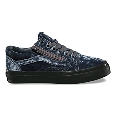 Image Unavailable. Image not available for. Color  Vans Old Skool Zip US Kids  Size 13.5 Velvet ... 842c48330