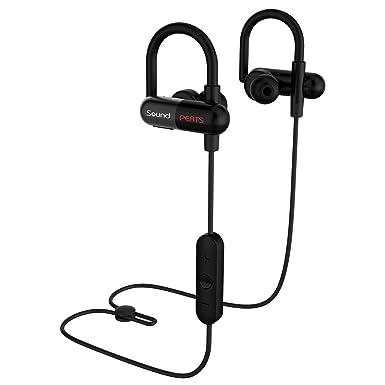 SoundPEATS a prueba de sudor inalámbrico Bluetooth auriculares deporte auriculares para correr con micrófono (8