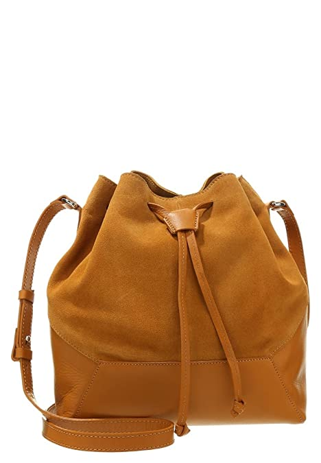 1bb8ef27da ZIGN, Borsa a tracolla donna beige curry: Amazon.it: Scarpe e borse