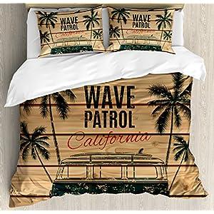 61N5VjTBGGL._SS300_ 50+ Surf Bedding and Surf Comforter Sets