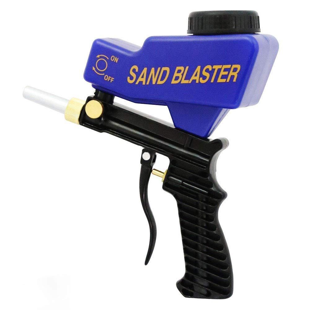 XZANTE Pistolet De Sablage Portatif Par Gravité Ensemble De Sablage Pneumatique Machine De Sablage Antirouille Petite Machine De Sablage