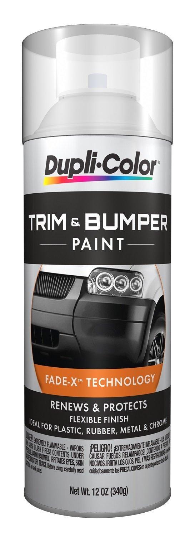 Dupli-Color TB100-6PK Trim and Bumper Paint - 11 fl. oz, (Pack of 6) by Dupli-Color