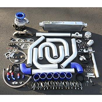 For Honda Civic/Acura RSX 2.0L High Performance 14pcs Cast T04E Turbo Upgrade Installation Kit