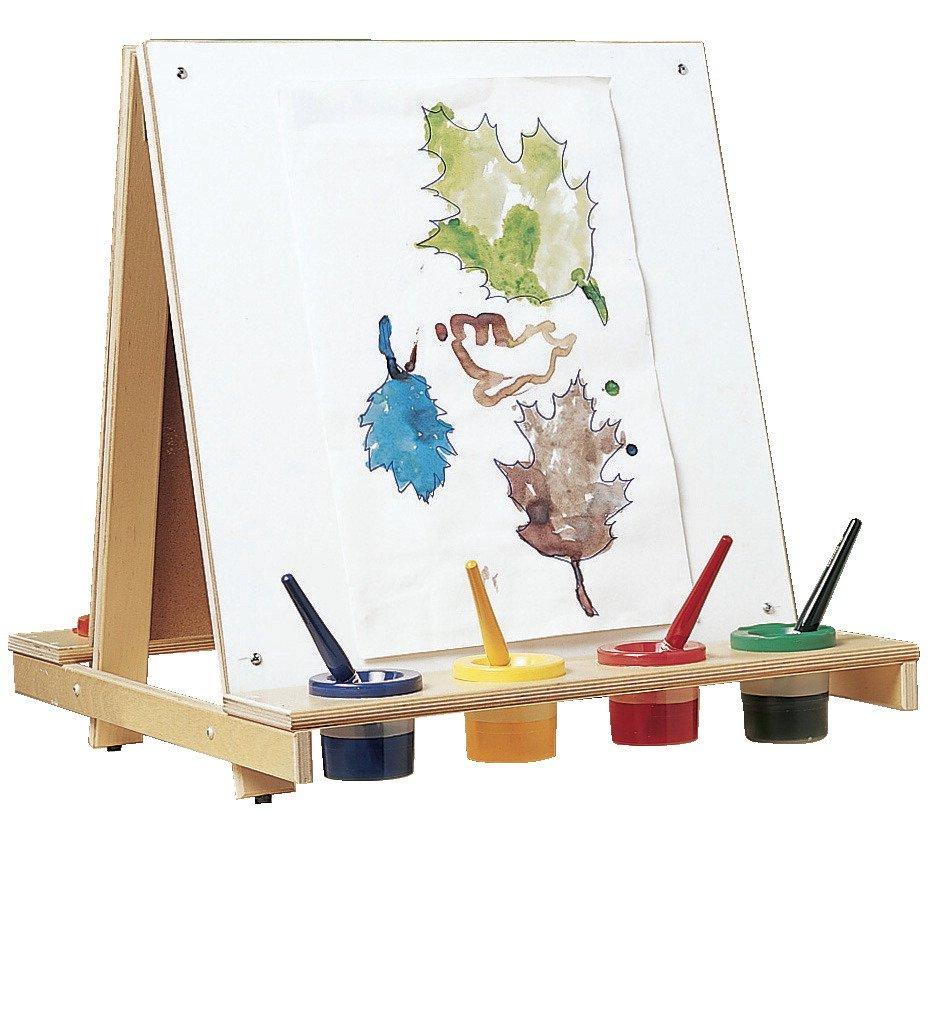 Childcraft 413225 Bird-In-Hand Tabletop Easel, 21-1/4'' Width x 23'' Depth x 22-5/8'' Height