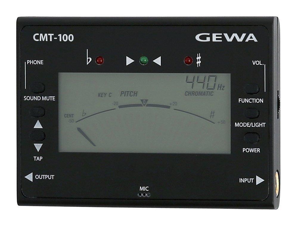 GEWA 902620 Accordatore/Metronomo CMT-100