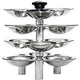 Hawkins Idli Stand Aluminium For Pressure Cooker, 5 Litres, 12 Idlis Silver