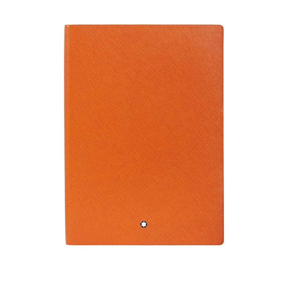 Mont Blanc Notebook 116225 Fine Stationery # 146/Leather Lined A5 Notebook with Soft Cover. Colour: Lucky Orange/192 Pages by MONTBLANC (Image #1)