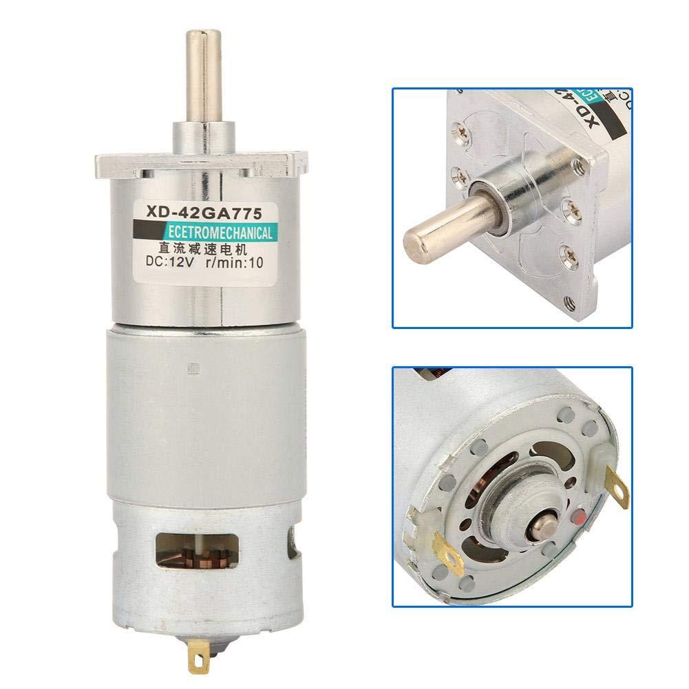 DC12V 24V 35W Mini-DC-Getriebemotor Metall Geschwindigkeit einstellbar gro/ßen Drehmoment Motor CW//CCW 12 V 100 U//min