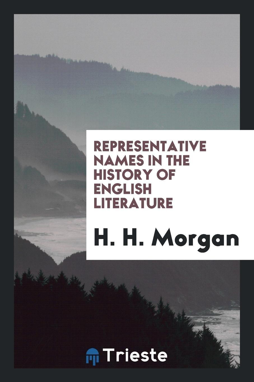 Download Representative names in the history of English literature pdf epub