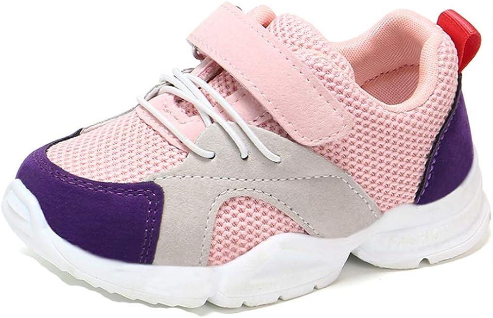Zapatos Deportivos para niños Zapatos de Primavera y otoño cómodos Transpirables Antideslizantes Zapatos Planos bebé al Aire Libre Zapatos Casuales Zapatos de niño