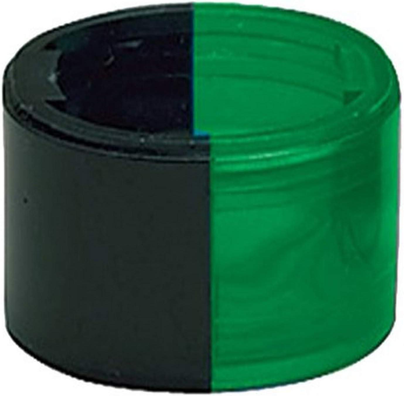 "Perko 0228DPGLNS Horizontal Mount Side Light Lens Replacement - Green, 1"" Height"