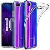 EasyAcc Coque Honor 10, Etui Transparent Antidérapant Pour Huawei Honor 10 (5,84 pouces) Protection Dorsale Étui Slim Invisible Housse Cover Case en TPU Gel Avec Absorption de Chocs