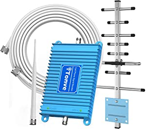 Cell Phone Signal Booster 2G 3G 4G Band 2 and Band 5 850/1900Mhz Cell Signal Booster Cell Phone Repeater Amplifier for Home and Office,Increase Data Speed and No More Dropped Calls