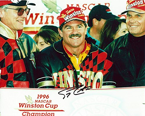 AUTOGRAPHED 1996 Terry Labonte #5 Kelloggs Racing Team WINSTON CUP CHAMPION (Victory Lane Celebration) Vintage Signed Picture NASCAR Glossy 8X10 inch Photo with COA ()