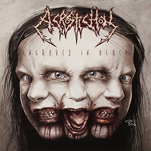 Acrostichon: Engraved in Black (Audio CD)