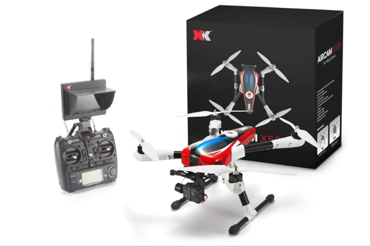 UAV, Professional Aerial Drone, GPS Positioning Four-axis Aircraft, Remote Control Aircraft Model Toys