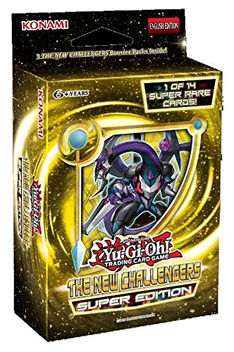 Yu-Gi-Oh! New Challengers SE HOBBY Special Super Edition TCG Cards Booster Mini-Box - 3 packs + 1 Super Rare (Special Edition Mini Box)