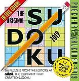 The Original Sudoku Color Page-A-Day Desk Calendar 2019 [6'' x 6'' Inches]
