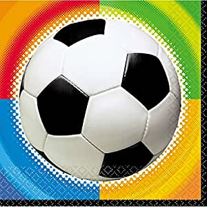 Amscan - Servilletas futbol (517040)