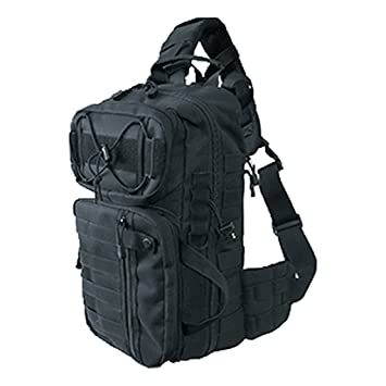 Commando de Industries Sistema Pack 3 Mochila Uso Funda Geocaching Mochila Negro