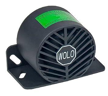 Amazon.com: Wolo (BA-550 Intelligent Alarm Back-Up Alarm ...
