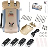WAFU Smart Lock HF-008 habilitado y pantalla táctil Keyless Smart Lock Deadbolt con alarma incorporada