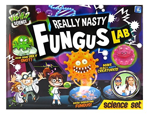 Grafix Really Nasty Fungus Lab Science Experiment Toy Set Xmas Boy Gift Make Nasty Creatures Fantastic Kit for Budding Scientists For ages 8 years + (Science Experiments In The Tub compare prices)