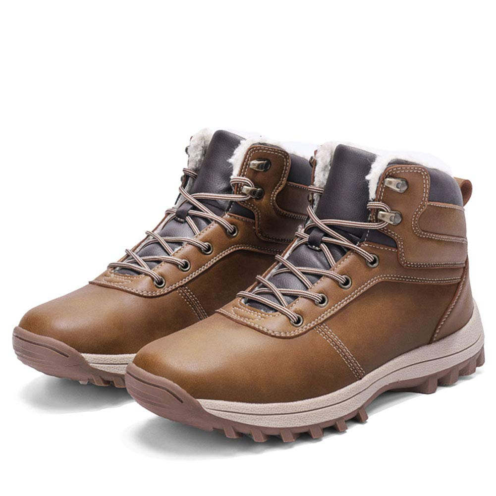 JIANYE Bottes Hiver Neige Homme Chaussures de Randonn/ée Imperm/éable Confortable Chaudes dhiver Boots