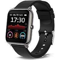 Smartwatch, Reloj Inteligente con Pulsómetro, Cronómetros, Calorías, Monitor de Sueño,…