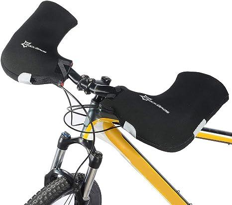 Lixada Bicicleta manillares Guantes/Guantes en Neopreno + ...