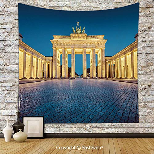 FashSam Tapestry Wall Hanging Classic View of Famous
