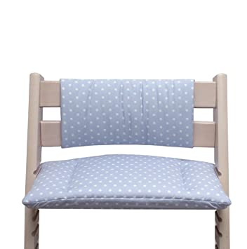 Grey Star Blausberg Baby Cushion Set Junior for Tripp Trapp High Chair of Stokke