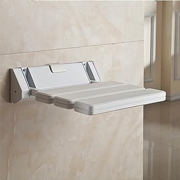 Homgrace Asiento Plegable para Ducha hasta 150 kg para baño ...