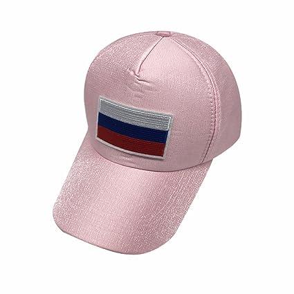 Wanson 2018 Rusia Gorras De Béisbol De La FIFA Unisex Moda Rosa Gorras De Tenis De ...
