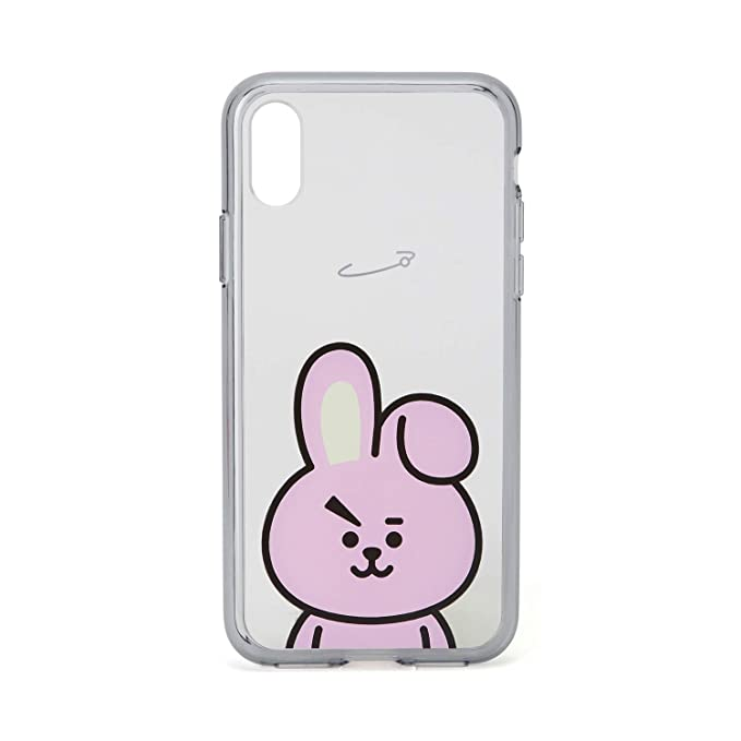 separation shoes 2fa3f 73232 BT21 Official Merchandise by Line Friends - Cooky Character Clear Case for  iPhone X Case, Pink