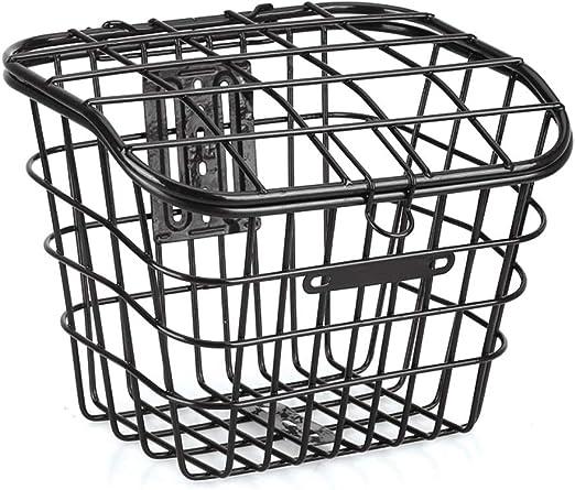 Hyx Cesta de Bicicleta Cubierta de Herrumbre Mascotas Basket ...