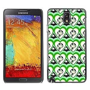 ZECASE Funda Carcasa Tapa Case Cover Para Samsung Galaxy Note 3 N9000 No.0000108