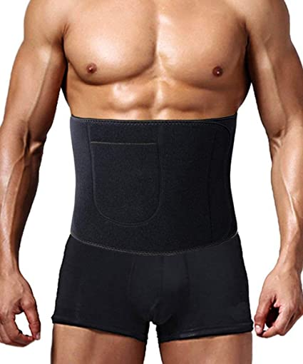 98e4ebaa97 Image Unavailable. Image not available for. Color  FLORATA Men Women Shapewear  Sweat Waist Cincher Trainer Body Shaper Neoprene Hot Belt