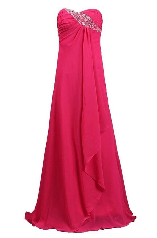 SimpleDressUK Women's Empire Chiffon Prom Dress Long Evening Dresses