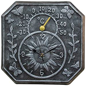 Poolmaster 52555 terra cotta clock and for Garden treasures pool clock