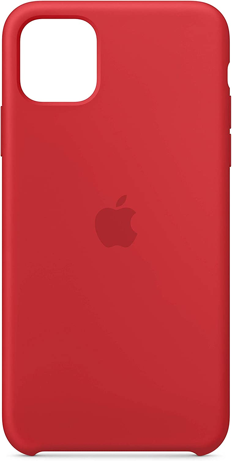 Apple Silicone Case (for iPhone 11 Pro Max) - (Product) RED