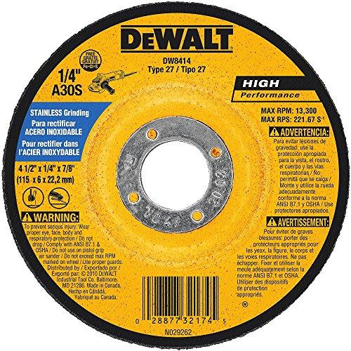 DEWALT DW8414 4-1/2