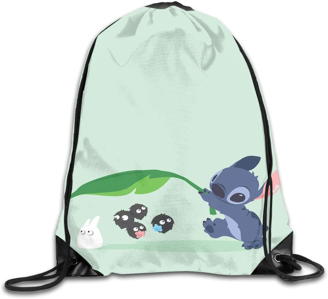 Dolphin Drawstring Backpack Rucksack Shoulder Bags Training Gym Sack For Man And Women